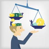 Business ideas — Stock Vector