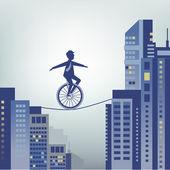 Business risks — Stock Vector