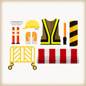 Safety equipment — Stock Vector