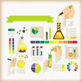 Ciencia — Vector de stock