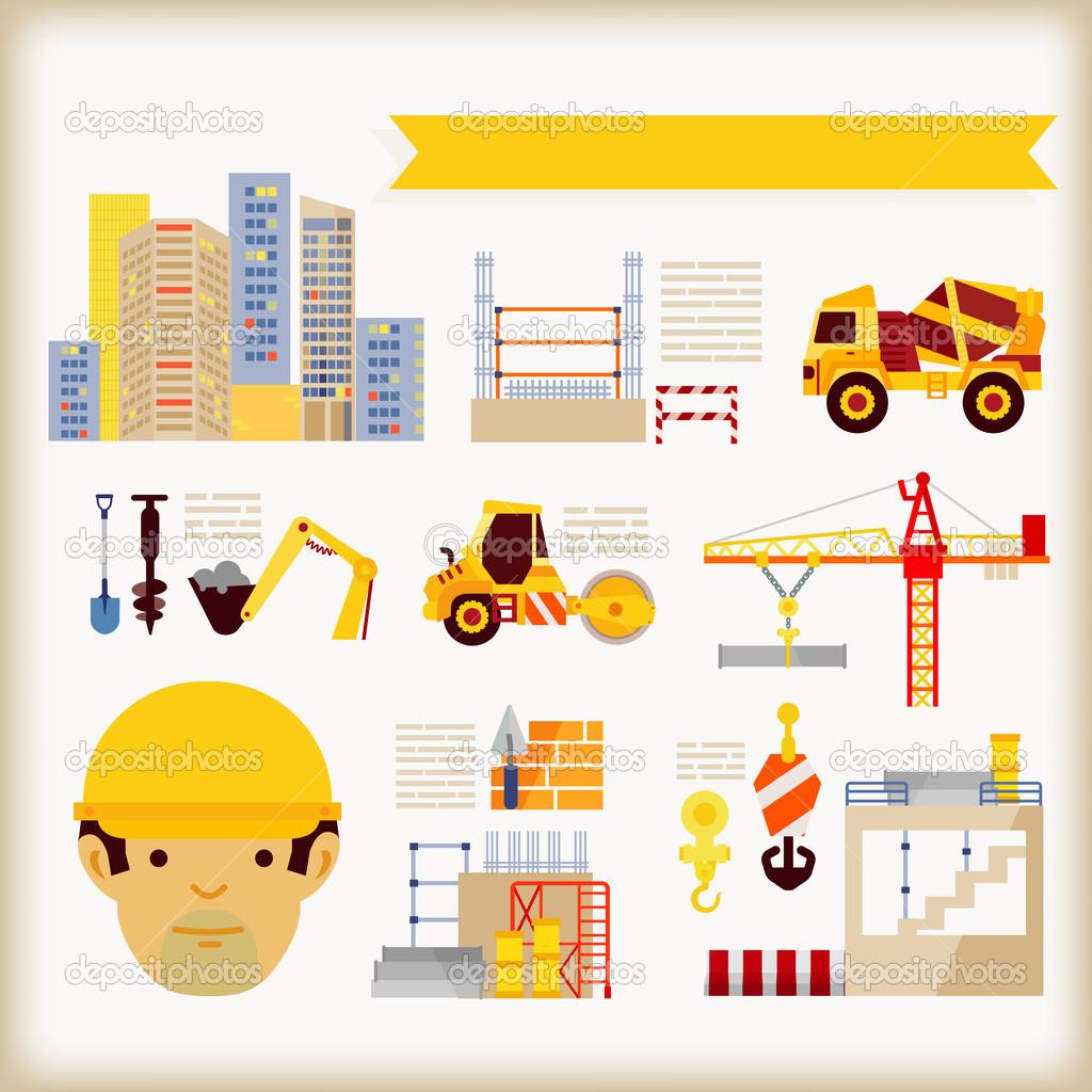 Building Construction Stock Vector 47405695