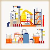 Building Construction — Wektor stockowy