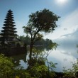 Temple on Lake Batur, Bali Island — Stock Photo #46283627