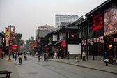 Moradores e turistas na china — Fotografia Stock