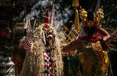 Tradiční bali tanec, netvor — Stock fotografie