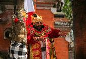 Balinese king — Stock Photo