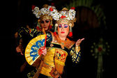 Balinese dancers — Stock Photo