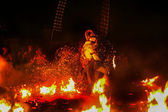 "Balinese mythology play called ""Kecak"". — ストック写真"