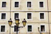 Lamppost in Cimadevilla — Stock Photo