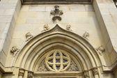 Facade of church — Stock Photo