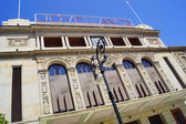 Facade of Asturian theatre a — ストック写真
