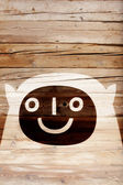 Smiling forest creature — Stock Photo