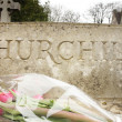 Постер, плакат: Burial site for Churchill
