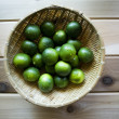 Green limes — Stock Photo #46608219