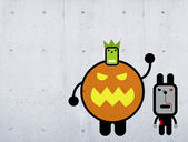 Halloween creatures — Foto de Stock