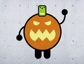 Pumpkin creature — Foto de Stock