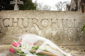 Burial site for Churchill — Stock Photo