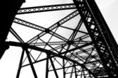 Steel structure — Stock Photo