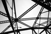 Estrutura de aço — Foto Stock