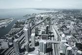 Vancouver skyline fotografi — Stockfoto