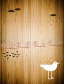 Bird life animals in nature — Stock Photo