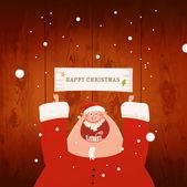 サンタ クロースの文字 — ストック写真
