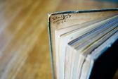 Signature incide of a book — Stock Photo