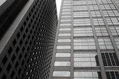 Modern building skyscrapers — Stock Photo