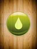 Drop icon — Stock Photo
