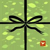Eastern gift wrap Birthday — Stock Vector
