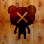 Bear character — Stock Photo #46948479