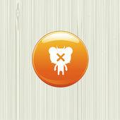Bear character — Stockvector