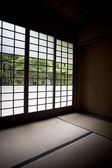 Japanese window — Stock Photo