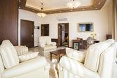 Luxury hotel suite interior — Stock Photo