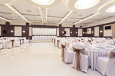 Banquet hall — Stock Photo
