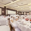 Head table for main guests in a banquet hall — Stock Photo #51723935