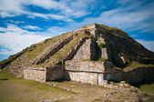 Pyramid in Monte Alban — Stock Photo