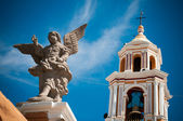 Angel in church of Cholula — Stock Photo
