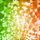Abstrakt-geometrischen Vektor Hintergrund und Platz für text — Stockvektor