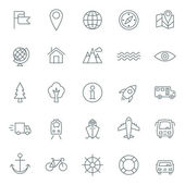 Vector icons set. For web site design and mobile apps.  — ストックベクタ