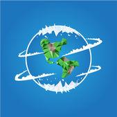 Planeta ziemia — Wektor stockowy