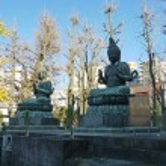 Tokyo, Japan - Japanese Buddha God statue — Stock Photo #46579181