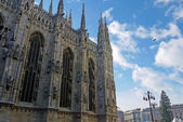 Milan Cathedral Italy Europe - April 12th 2013 — Stock Photo