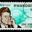 John F. Kennedy Postage Stamp — Stock Photo #46564773