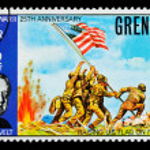 Постер, плакат: FDR Postage Stamp