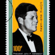 John F. Kennedy Postage Stamp — Stock Photo #46565503