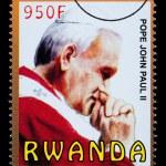 Pope John Paul Postage Stamp — Stock Photo #46567571