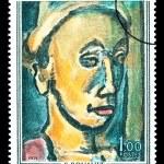 Постер, плакат: Georges Henri Rouault Postage Stamp