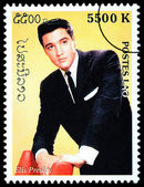 Elvis Presely Postage Stamp — Stock Photo
