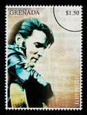 Elvis Presely Postage Stamp — Foto Stock